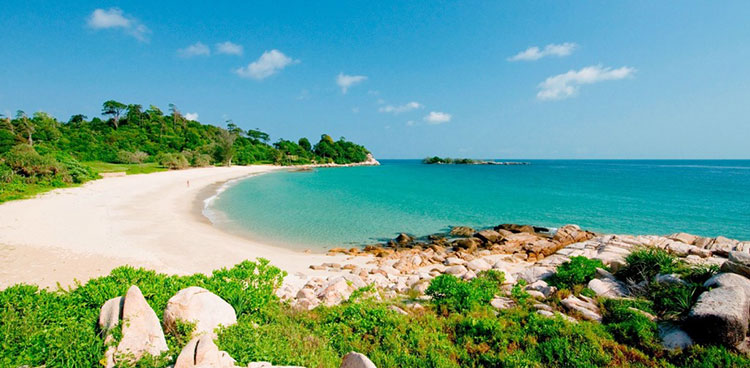 bintan private beach